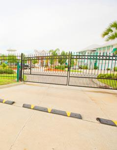 Calypso Bay Gated Entry