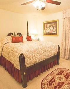Relais Esplanade Master Bedroom
