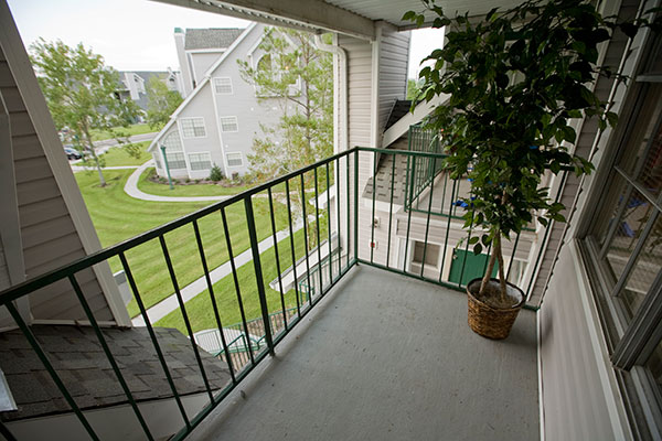 Riverview Villa Balcony