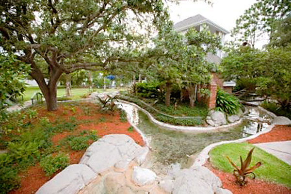Riverview Villa Water Feature